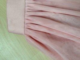 Falda de tul rosa