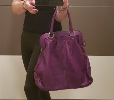 100% Fashion Sac à main bleu violet