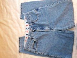 Angels Pantalon boyfriend bleu acier
