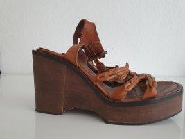 Italien Leder Sandale