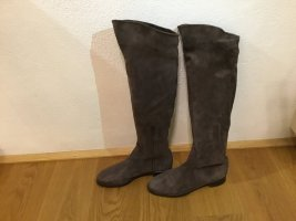 Italienische Overknee Stiefel Marke Ambrosio
