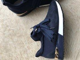 italienische Sneaker dunkelblau Gr. 38