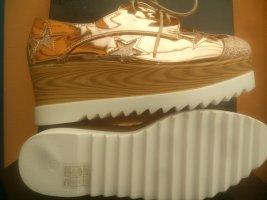 """C'est la vie!"" High Top Sneaker gold-colored"
