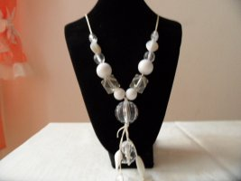0039 Italy Collier Necklace white