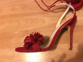 Ivanka Trump Rote Stiletto Sandalen Gr. 37