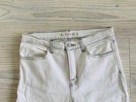 JBRAND Jeans slim fit bianco Cotone