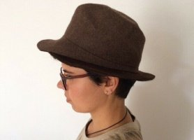 J.lindeberg Felt Hat brown