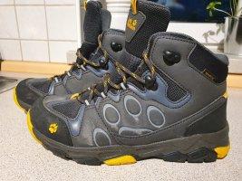 Jack Wolfskin Aanrijg laarzen antraciet-goud Oranje