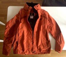 Jack Wolfskin Windstopper ciemny pomarańcz-rudy