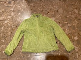 Jack Wolfskin Giacca in pile verde neon
