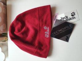 Jack Wolfskin Fabric Hat dark red