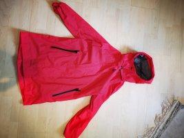 Jack Wolfskin Heavy Raincoat red
