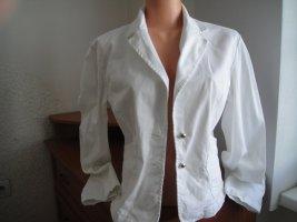 Aiko Veste courte blanc-blanc cassé lycra