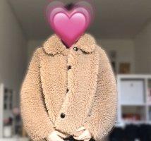 Jacke aus Fellimitat