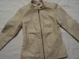 Jacke aus Kunstleder Größe 34