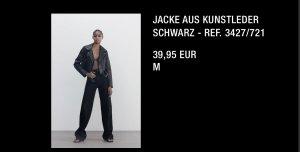 Jacke aus Kunstleder ZARA M