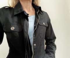Jacke aus reiner Baumwolle