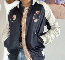 Urban Outfitters College Jacket dark blue