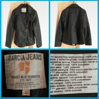 Garcia Jeans Giacca in ecopelle nero