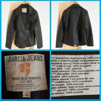 Garcia Jeans Kurtka z imitacji skóry czarny