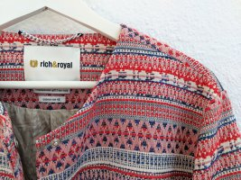 Rich & Royal Tweed Blazer multicolored