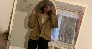 H&M Divided Winter Jacket sand brown