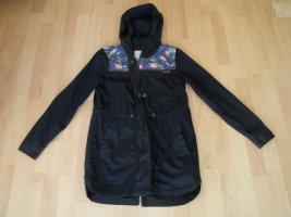 Roxy Abrigo con capucha azul oscuro-azul