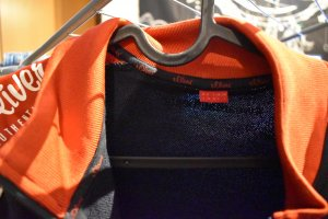 s.Oliver College Jacket multicolored