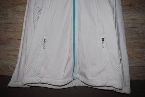 McKinley Kurtka softshell biały-jasnoniebieski
