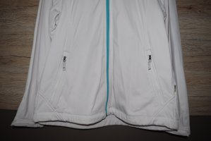 McKinley Giacca softshell bianco-azzurro