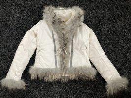 Le Jean De Marithé + Francois Girbaud Double Jacket white-natural white