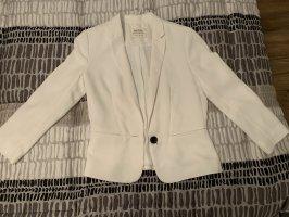 Bershka Biker Jacket white
