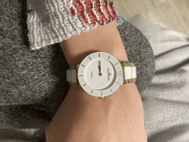 Jacques Lemans Watch With Metal Strap gold-colored-white
