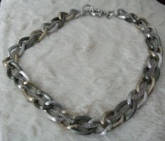 Jade & Jasper Link Chain silver-colored-gold-colored