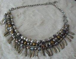 JADE & JASPER Halskette  - silbern - ausgefallen