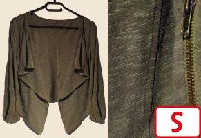 Blousje khaki-groen-grijs