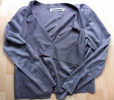 Noisy May Korte blazer grijs-bruin-lichtbruin Polyester