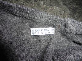 Annalisa Bucci Pull en cashemire gris foncé cachemire