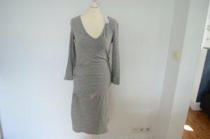 JAMES PERSE gerafftes Kleid aus Baumwoll Stretch Jersey NEU! 3 36 UVP 252,00 €