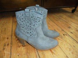 Jane Klain Stiefeletten Boots Gr.39 blau