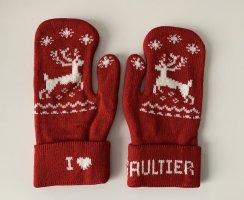 Jean Paul Gaultier Handschuhe Fäustlinge neu