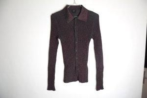 Jean Paul Gaultier Long Sleeve Blouse black-purple