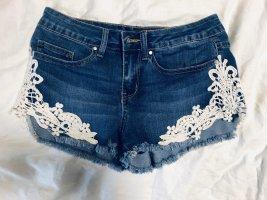 Even & Odd Shorts cream-blue