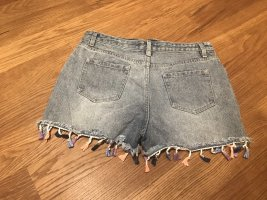Jean Shorts im Boho-Style