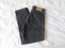 Zara Jeans boyfriend nero Cotone