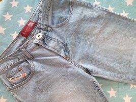 Jeans a 7/8 blu pallido