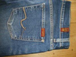 7 For All Mankind Pantalone cinque tasche blu scuro Cotone