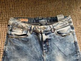 C&A Clockhouse Jeans taille haute bleuet-bleu clair