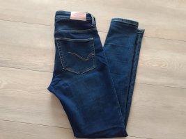 Only Jeans skinny blu-blu acciaio