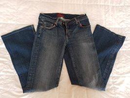 Blue Cult Spodnie z pięcioma kieszeniami niebieski Bawełna